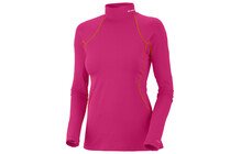 Columbia Women&#039;s Baselayer Midweight Mock Neck LS bright rose
